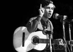 29.09.1968 - Arquivo O Globo - Geraldo VandrŽ. III Festival Internacional da Can‹o, Maracan‹zinho. 29.09.1968 - Archive O Globo - Geraldo VandrŽ, singer and composer.