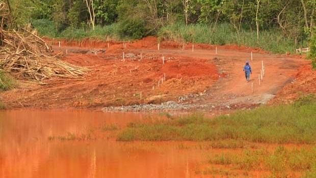 Secretaria autorizou desmatamento em volta da nascente do Córrego Jaó