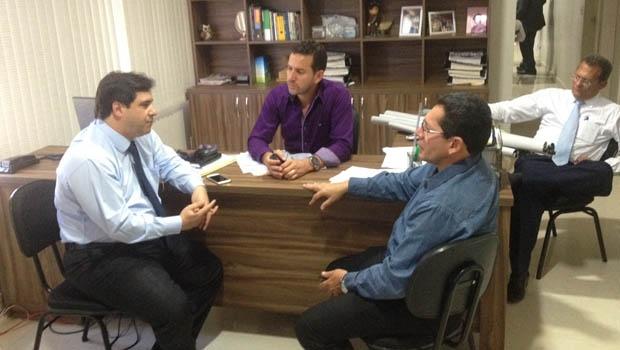 Buonaduce se reúne com o presidente da Câmara de Planaltina