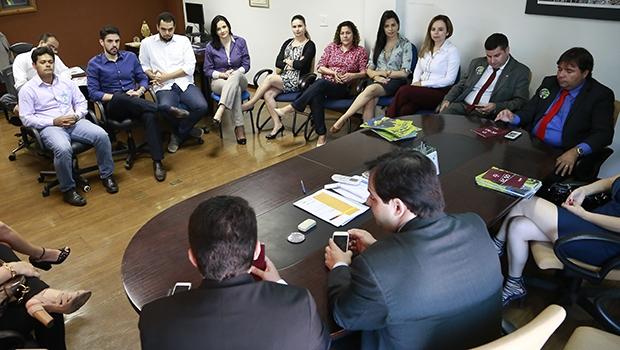Buonaduce se reúne na Agehab | Divulgação