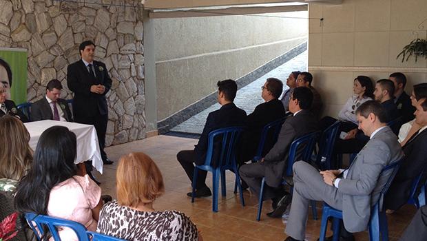 Buonaduce leva propostas da OAB Forte ao município de Cristalina