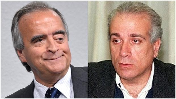Ex-diretor da Petrobrás Nestor Cerveró e Celso Daniel: o primeiro poderia ter o mesmo fim do segundo, que foi assassinado para não entregar esquema de corrupção em favor de seu partido | Fotos: Wilson Dias / ABr/ reprodução