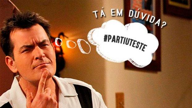 Governo do RS causa polêmica ao usar foto de Charlie Sheen em campanha contra Aids
