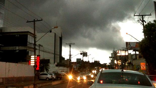 Fim de semana será marcado por pancadas de chuvas e trovoadas em Goiânia