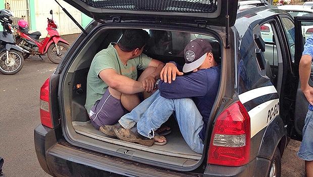 Presos pela Polícia Civil em operação na cidade de Itumbiara | Divulgação/PC
