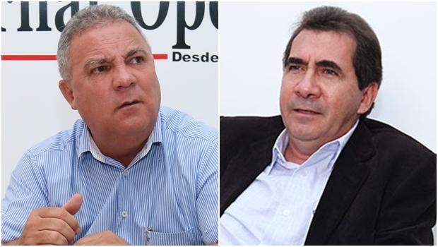 Misael Oliveira e João Gomes, prefeitos de Senador Canedo e Anápolis | Fotos: Jornal Opção
