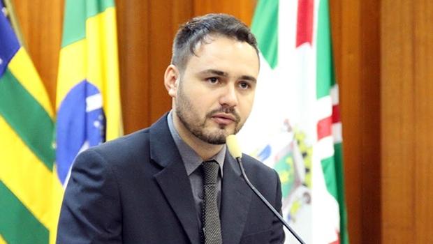 Vereador Mizair Lemes Júnior, do PMDB, foi sondado pelo senador Wilder Morais, do PP | Alberto Maia/Câmara de Goiânia