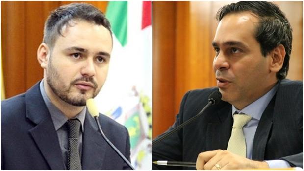 Vereadores Mizair Lemes Júnior e Wellington Peixoto | Foto: Câmara de Goiânia