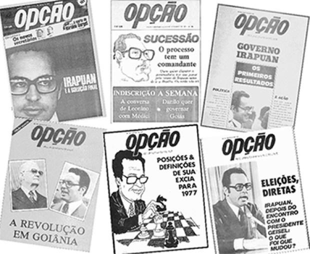 Decisões e diretrizes de governo tomadas por Irapuan Costa Junior eram dissecadas em série de reportagens