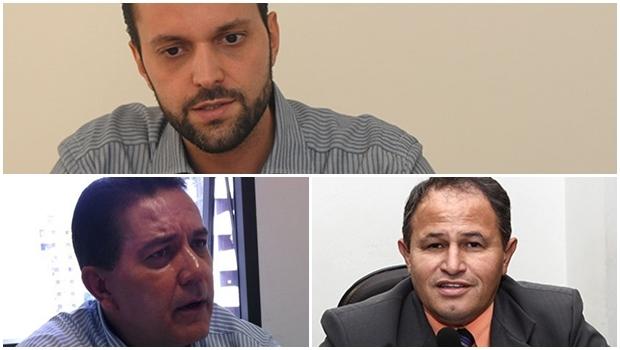 Carlos Antonio, Ernani de Paula e Alexandre Baldy: cadê a movimentação que poderia viabilizar uma campanha? | Fotos: Fernando Leite/Jornal Opção