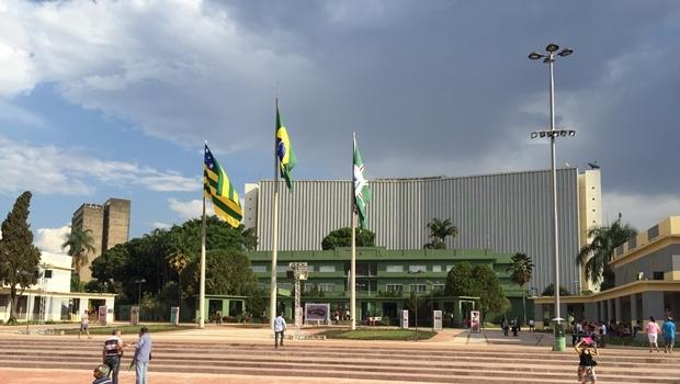 Praça Cívica, em Goiânia   Foto: Alexandre Parrode