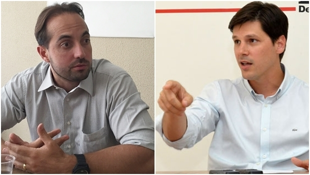 Samuel Belchior contradiz Daniel Vilela | Fotos: Alexandre Parrode / André Costa / Jornal Opção