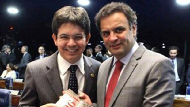 Aécio Neves é suspeito de ter recebido 300 mil reais e Randolfe Rodrigues, 200 mil