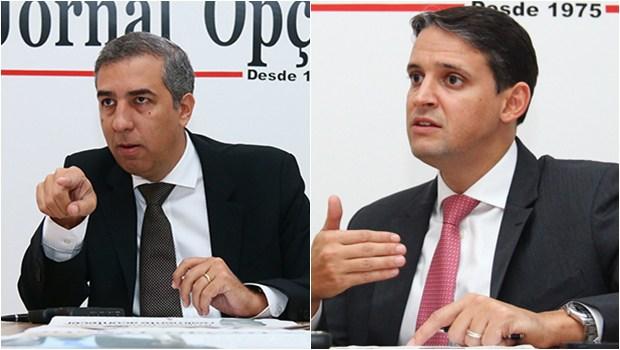Thiago Peixoto e José Eliton estão cada vez mais próximos