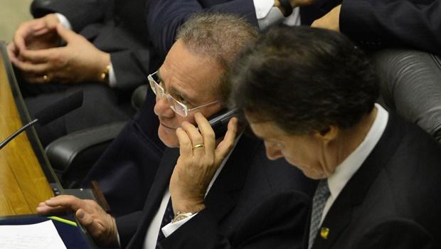 """Calheiros sobre Cunha: """"Vão acabar decretando a prisão dele"""""""