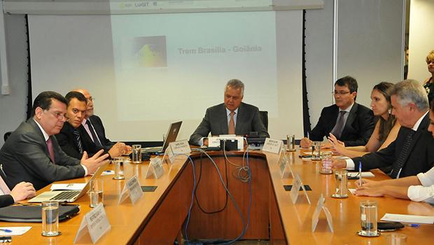 Audiência entre governadores na ANTT | Foto: DIvulgação