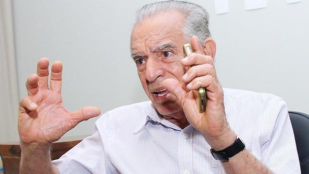 Ex-prefeito de Goiânia, Iris Rezende   Fernando Leite