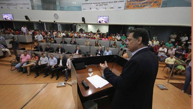 Em Manaus, Marconi fala do protagonismo deGoiás no ranking do crescimento nacional