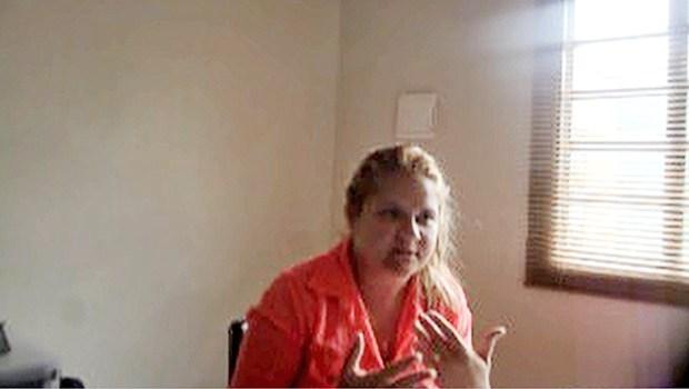 Ariane foi flagrada intermediando propina em 2013 | Foto: Reprodução/Vídeo