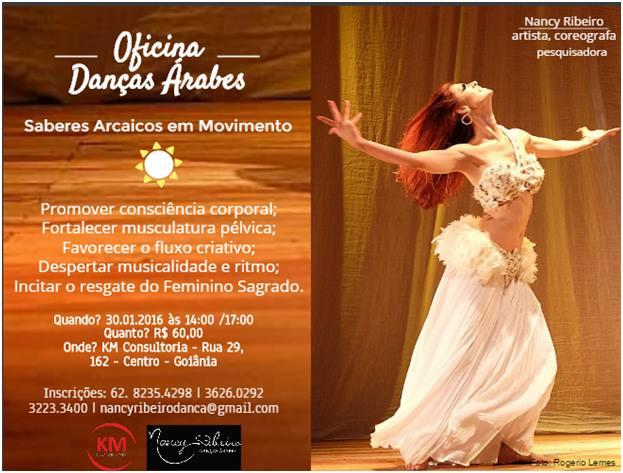 Danças árabes