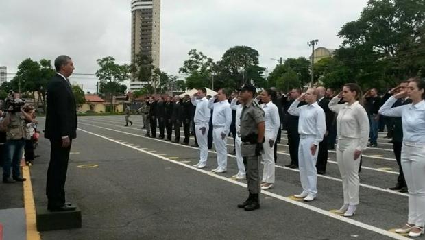Novos policiais passarão por curso de formação antes de ir para as ruas | Foto: Vice-Governadoria