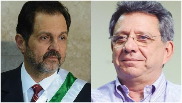 Agnelo Queiroz (PT) e Tadeu Filippelli (PMDB) são acusados de abuso de poder político nas eleições de 2014 | Fotos: Elza Fiuza / Agência Brasil