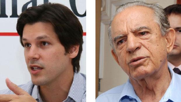 Daniel Vilela e Iris Rezende: a batalha entre os dois é a luta de substituição do velho pelo novo; e um terá de sair de cena