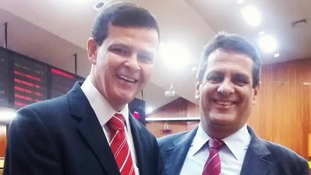 Paulo Borges e Denício Trindade: vereadores de Goiânia apoiam Daniel | Foto: reprodução / Facebook