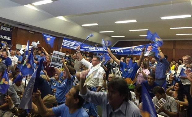 Tucanos lotaram Auditório Costa Lima, na Alego | Foto: Marcelo Gouveia