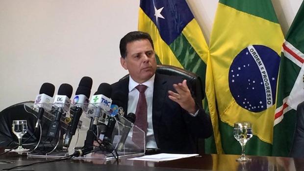 Em coletiva, Marconi anuncia criação de força-tarefa para enfrentar violência em Goiás