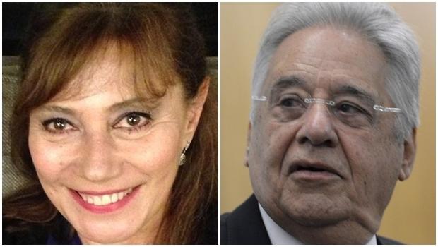 Ex-presidente manteve relacionamento extraconjugal com a jornalista na década de 1980 | Fotos: Twitter/Agência Brasil
