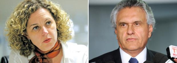 Ronaldo Caiado e Ana Carla Abrão images-cms-image-000460859