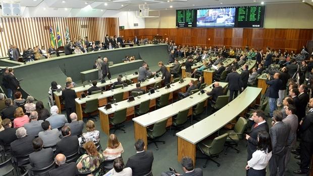 Assembleia Legislativa de Goiás | Foto: Foto Y. Maeda