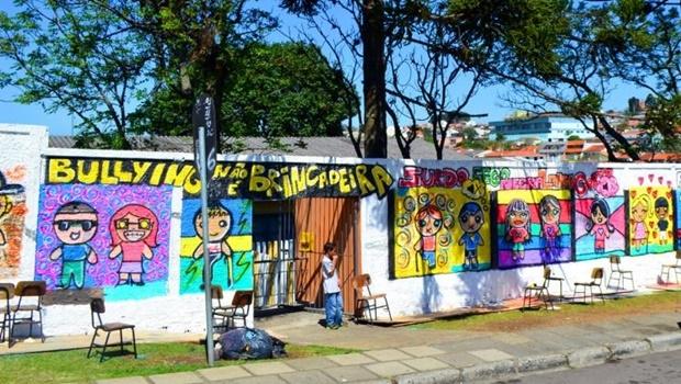 Escola de Curitiba promove ação contra bullying: nova lei cobra das instituições de ensino medidas preventivas e de punição | Foto: SMCS