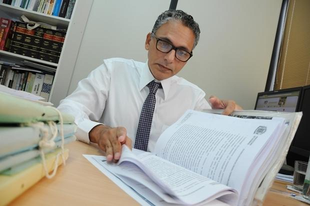 Juliano de Barros Araújo até tentou fazer acordo com as partes. Sem sucesso  | Foto: Renan Accioly/Jornal Opção