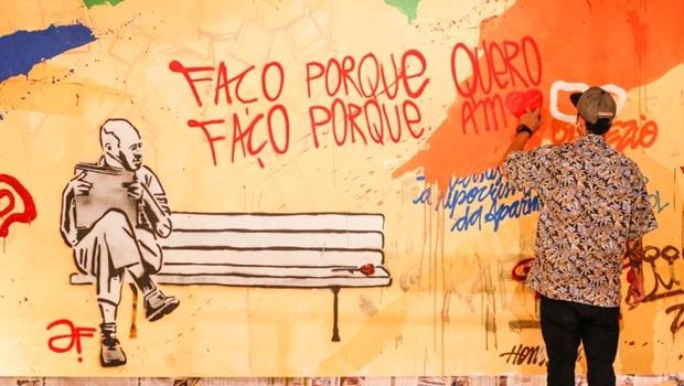 Goiânia recebe 2ª Mostra de Arte Urbana no Brasil Central