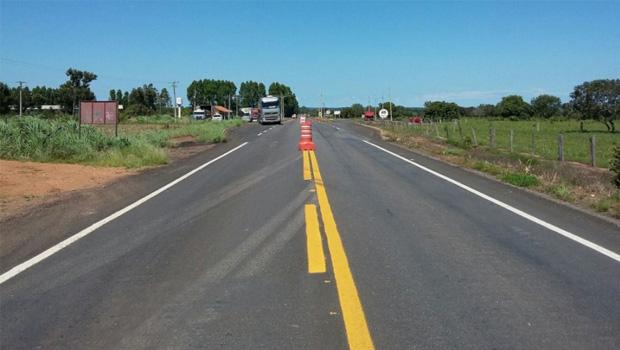 Governo finaliza reconstrução  da TO-342, a rodovia do abacaxi