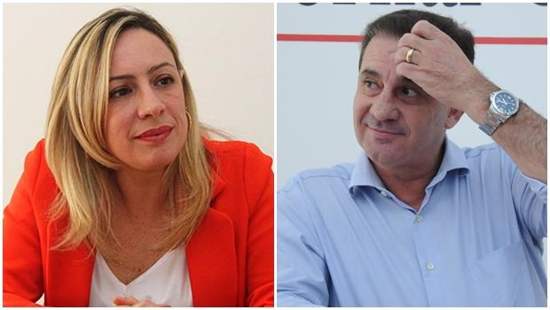 Pré-candidatos, Vanderlan e Adriana Accorsi têm encontro marcado para discutir eleições