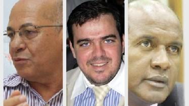 Alcides Ribeiro, Gustavo Mendanha e Marlúcio Pereira: um deles será, possivelmente, eleito prefeito de Aparecida de Goiânia em outubro