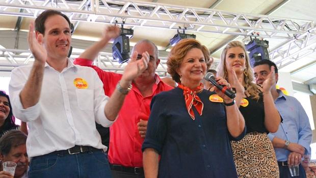 Lissauer Vieira lança pré-candidatura à Prefeitura de Rio Verde em evento com 5 mil pessoas