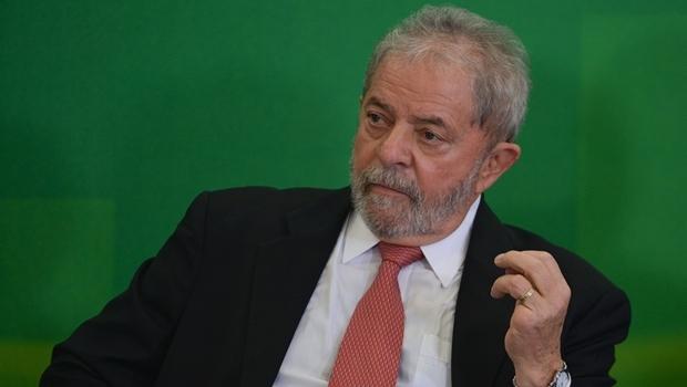 Lula durante cerimônia de posse como ministro-chefe da Casa Civil | Foto: José Cruz / Agência Brasil