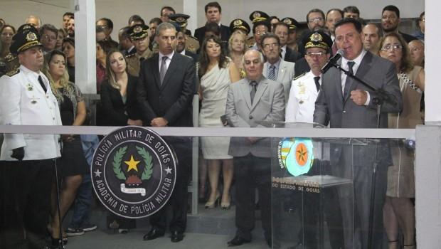 Marconi convocou policiais a trabalharem com empenho na defesa da população e da paz social   Foto: Humberto Silva