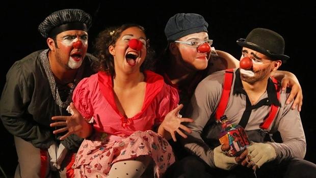 Peça Clowns-Tô-Folia faz parte da programação do Festival Razões Para Sonhar, que acontecem em Caldas Novas a partir de segunda (14/3)   Foto: Luria Correa