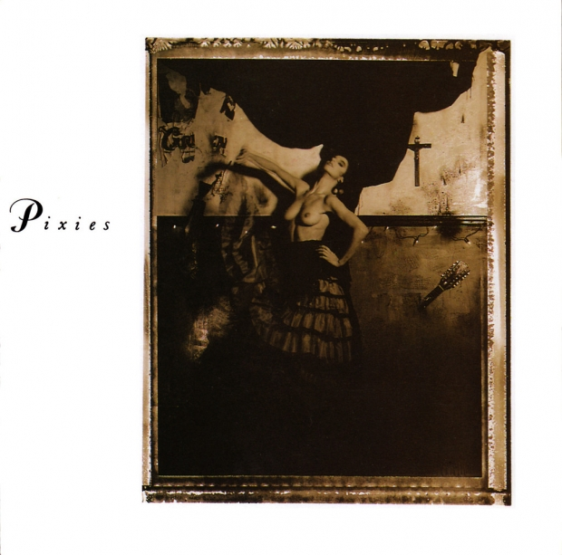 Capa do disco Surfer Rosa, que influenciou Kurt Cobain, do Nirvana, na gravação do Nevermind, entre outros músicos | Foto: