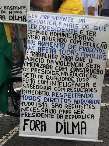 Protesto das ruas em Goiânia foto 9
