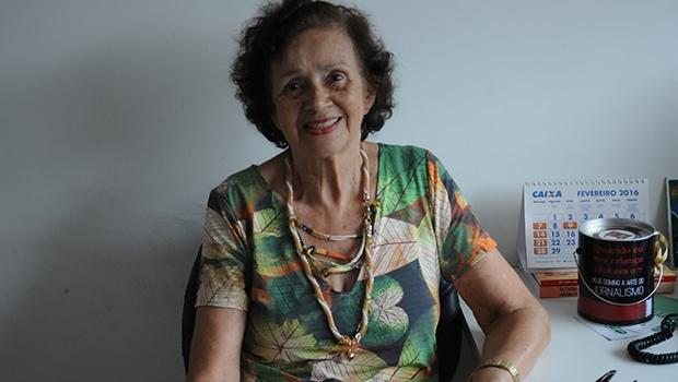 """Mineira, Maria Luiza Pires Medeiros, além de se dedicar à escrita, criou na capital goiana a Fundação Logosófica. O romance """"Elo"""" é seu quarto trabalho publicado"""