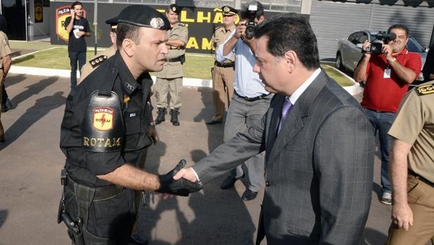 Tenente-coronel da Rotam assume comando da PM em Aparecida
