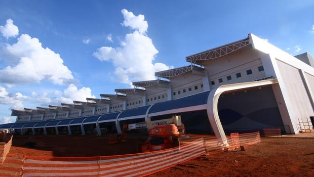 """Infraero: """"Não há possibilidade de embargo na obra do novo Aeroporto de Goiânia"""""""