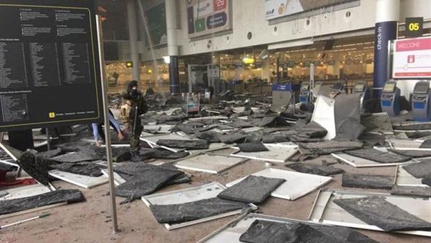 Explosões na capital da Bélgica deixam pelo menos 20 mortos