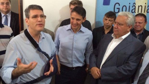 Vilmar Rocha não participa de acordão e mantém candidatura de Francisco Jr. a prefeito de Goiânia